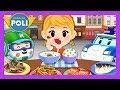 Let's eat the food evenly! | Habit play for Kids | Robocar Poli Game