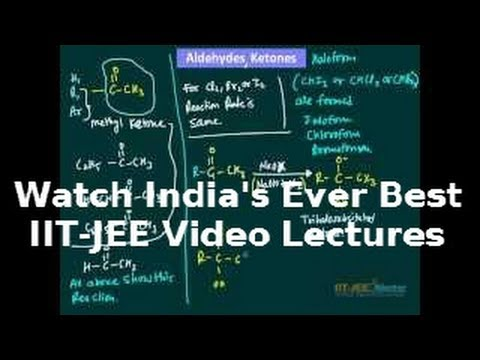 Aldehyde and Ketone IIT JEE main chemistry preparation videos