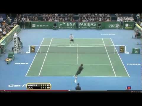 Amazing tennis moments and Super Shots