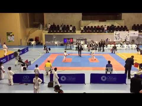 Juraj debut kumite and victory