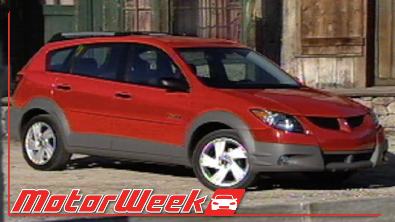 motorweek retro review 2003 pontiac vibe youtube. Black Bedroom Furniture Sets. Home Design Ideas