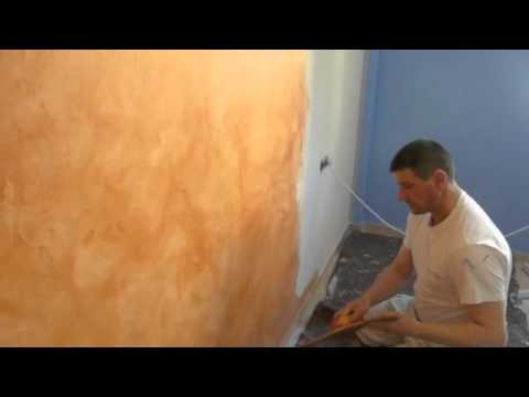 Estuco envejecido pinturas calvet youtube for Pinturas para interiores colores modernos