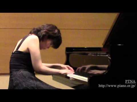 """Bortkiewicz: 4 Pieces No.1 """"Capriccio"""" Op.3 Pf. 上野優子"""