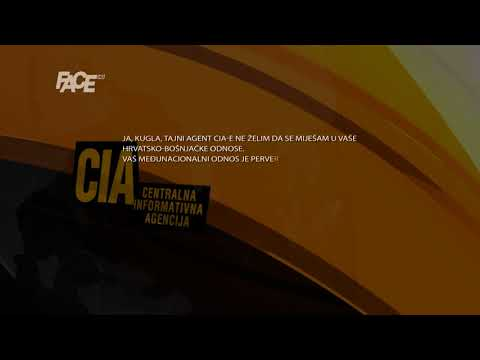 CIA: Odnosite se vi u materinu...
