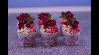Рецепт капкейков с печеньем Oreo. Домашние кексы с сюрпризом внутри. Украшение заварным кремом