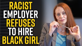 WHITE LADY Refuses to Hire COLORED GIRL - Must See Ending!!!!