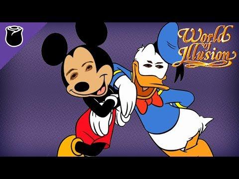 World Of Illusion Staring Mickey And Donald: Bro-Op (Mega Drive Mini)