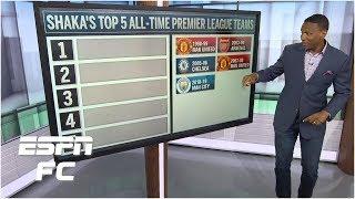 Top 5 Premier League teams of all time: 1998-99 Man United or 2018-19 Man City? | Premier League