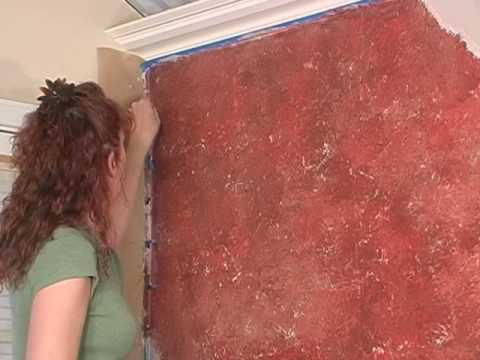 How To Paint Faux Bricks Wall Technique Youtube
