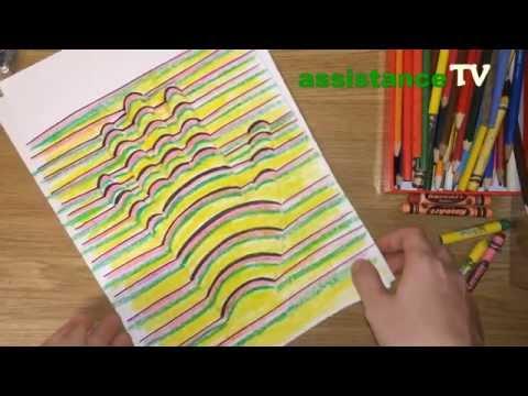Как нарисовать 3D рисунок / 3D рука на бумаге