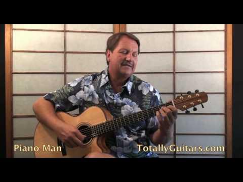 Billy Joel - Piano Man Guitar lesson