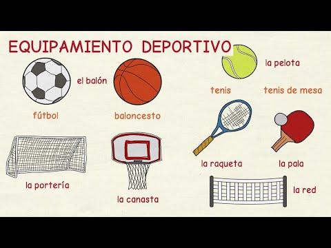 Aprender español: Equipamiento deportivo (nivel intermedio)