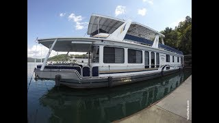 2000 Stardust 16 x 77WB Houseboat For Sale on Norris Lake TN by YourNewBoat.com