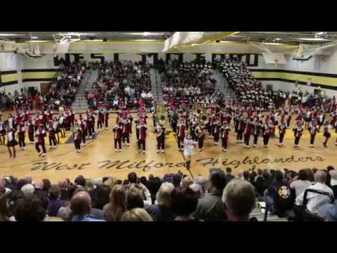 CHS Mustang Marching Band - West Milford Tattoo 2015 (Part 2 of 2)