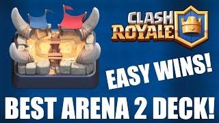 CLASH ROYALE | BEST ARENA 2 (Bone Pit) DECK! | EASY WINS!