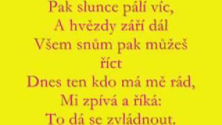 Lucie Vondráčková Ten, kdo má tě rád, text
