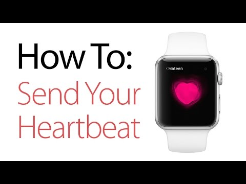 How To Send Your Heartbeat From The Apple Watch