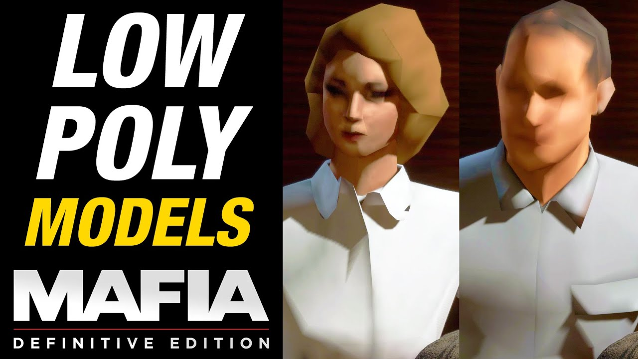 Mafia Definitive Edition - Low Polygon Models
