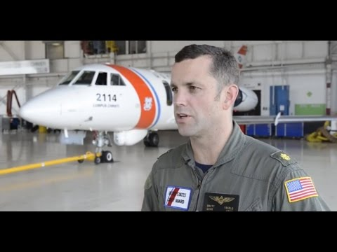 U.S. Coast Guard Retires Falcon HU-25 'Guardian'