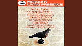 Copland: Billy the Kid - complete ballet - Street in a Frontier Town