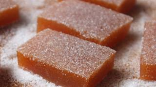 Fresh Peach Candy - Peach Gelee Recipe - Jellied Peach Sweets