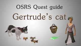 [OSRS] Gertrude's cat quest guide