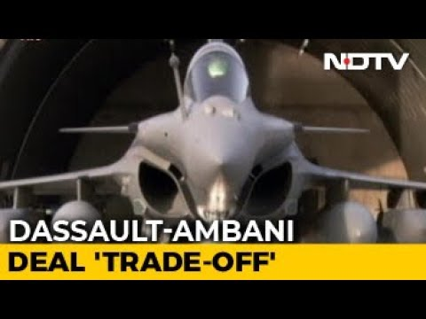 Dassault Papers Show Reliance Entry Mandatory For Rafale Deal: Report