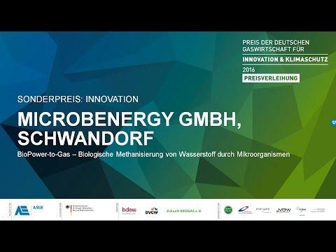 Preisträger in der Kategorie SONDERPREIS - MicrobEnergy GmbH, Schwandorf