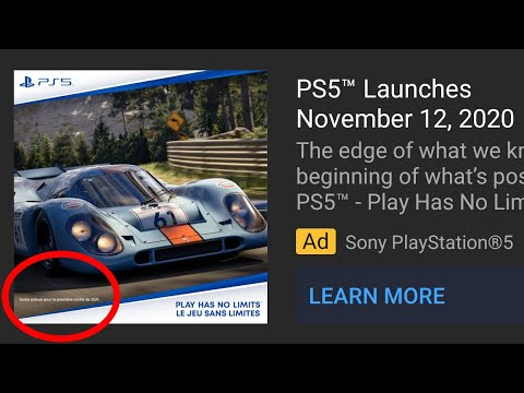 Gran Turismo 7 Official Release Date News Update GT7 PS5 AD LEAK - First Half 2021