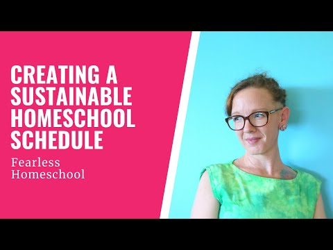 Easing into your homeschooling schedule