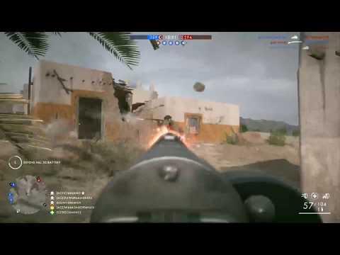 Battlefield 1 - Conquest - Suez - 7 Hellriegel Killstreak