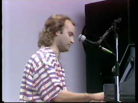 Phil Collins Against All Odds @ Live Aid 85