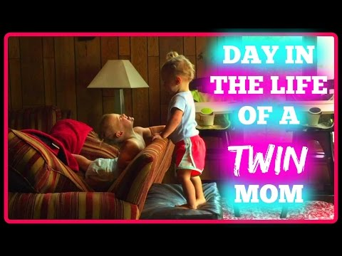 DAY IN THE LIFE OF A TWIN MOM!