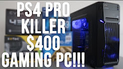 Best $400 Budget Gaming PC Build - RIP PS4 Pro (w/ Benchmarks) GTX 1050