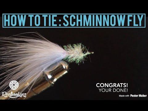 Fly Tying : Schminnow Pattern Fly By Reel Hooking