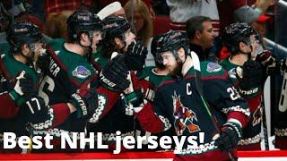 Top Ten Best NHL Jerseys of All Time