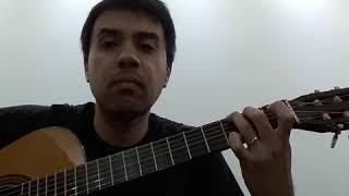 Marcelo S. M. interpreta o hino Castelo Forte (CC 323 - HC 581) no violão - 2018