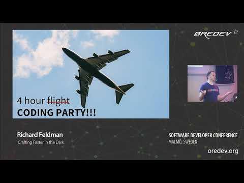 Richard Feldman - Crafting Faster in the Dark | Øredev 2018