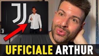 UFFICIALE! Arthur è della Juventus! 🔥 (Pjanic va al Barcellona) Centrocampo ringiovanito!
