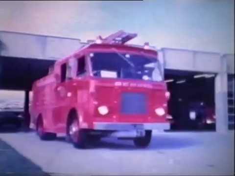 Wellington Fire Service- Hannah's Fire 1977