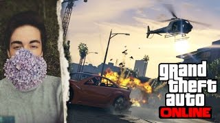 GTA V (Online) The Sadistic Serial Killer SERIES - Part 1 (City Slaughter & Exploration)