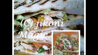 poached chicken salad sandwich recipe jikoni magic