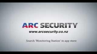 ARC SECURITY Alarm Monitoring App