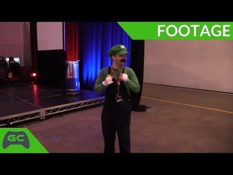Real Life Luigi   Cosplay Fun with Luigi   BAM10 Battle Arena Melbourne 10  2018