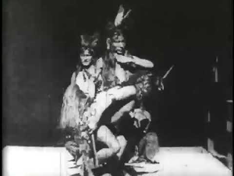 Buffalo Dance (1894) | Edison Silent Film