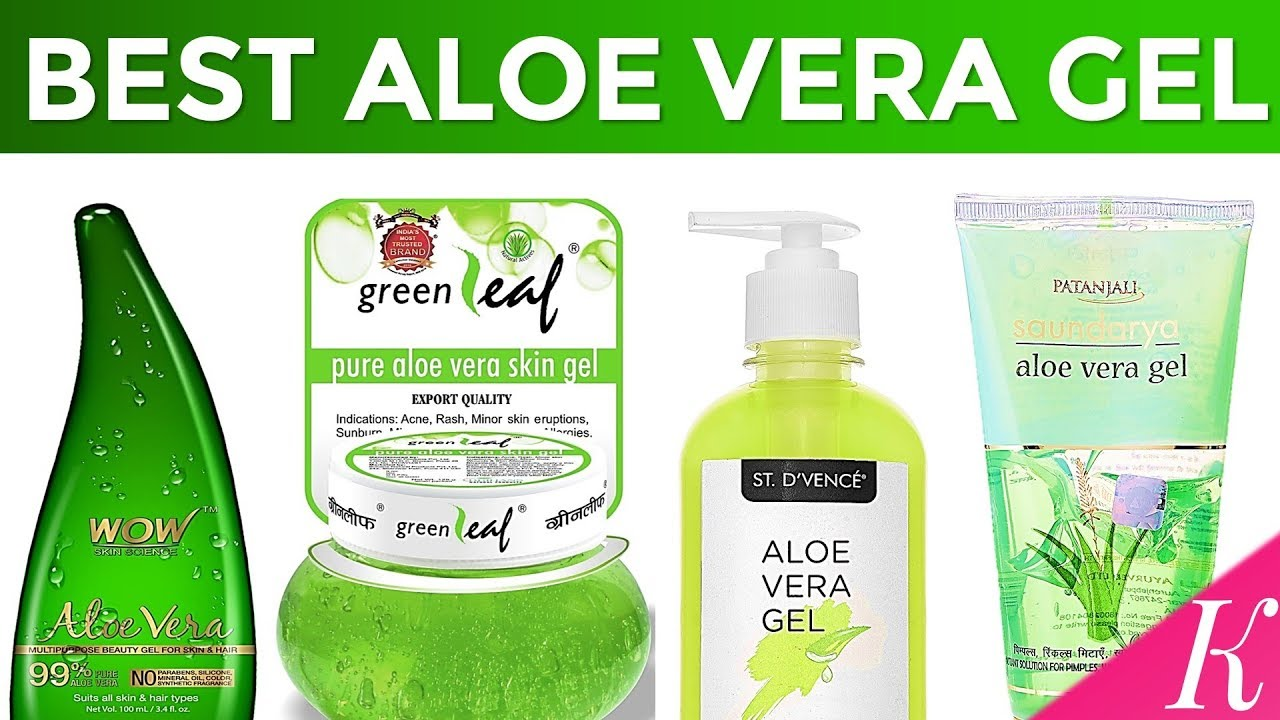 10 Best Aloe Vera Gel For Skin In India With Price Summer Special Youtube
