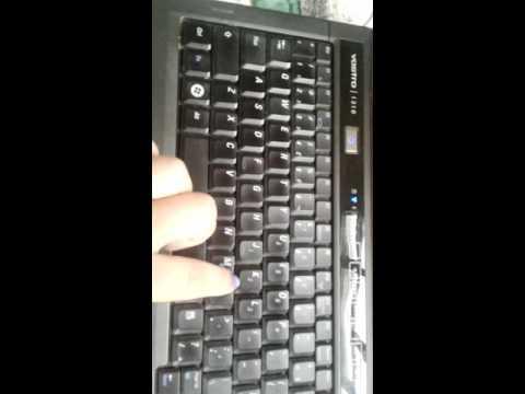 Como ativar ou desativar os números do teclado do notebook.