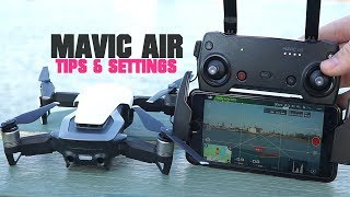 DJI Mavic Air - Tips & Settings To Improve Your Footage & Overall Experience | DansTube.TV