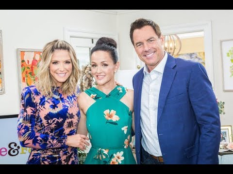 Crystal Lowe Appears on Hallmark Channel's Home & Family