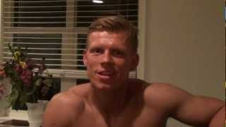 Nick Olsen Prep for Denmark